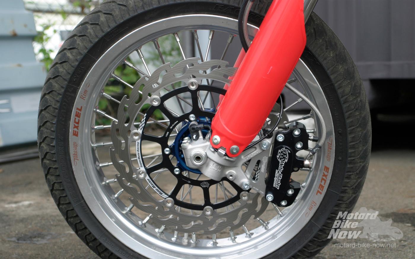 CRF450L モタード フロントブレーキ Moto-Master