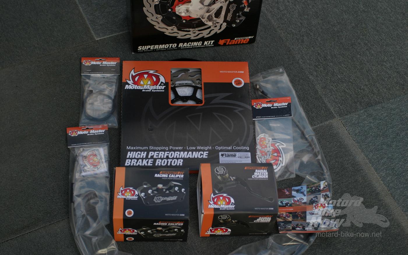 Moto-Mastre スーパーモトレーシングコンプリートキット