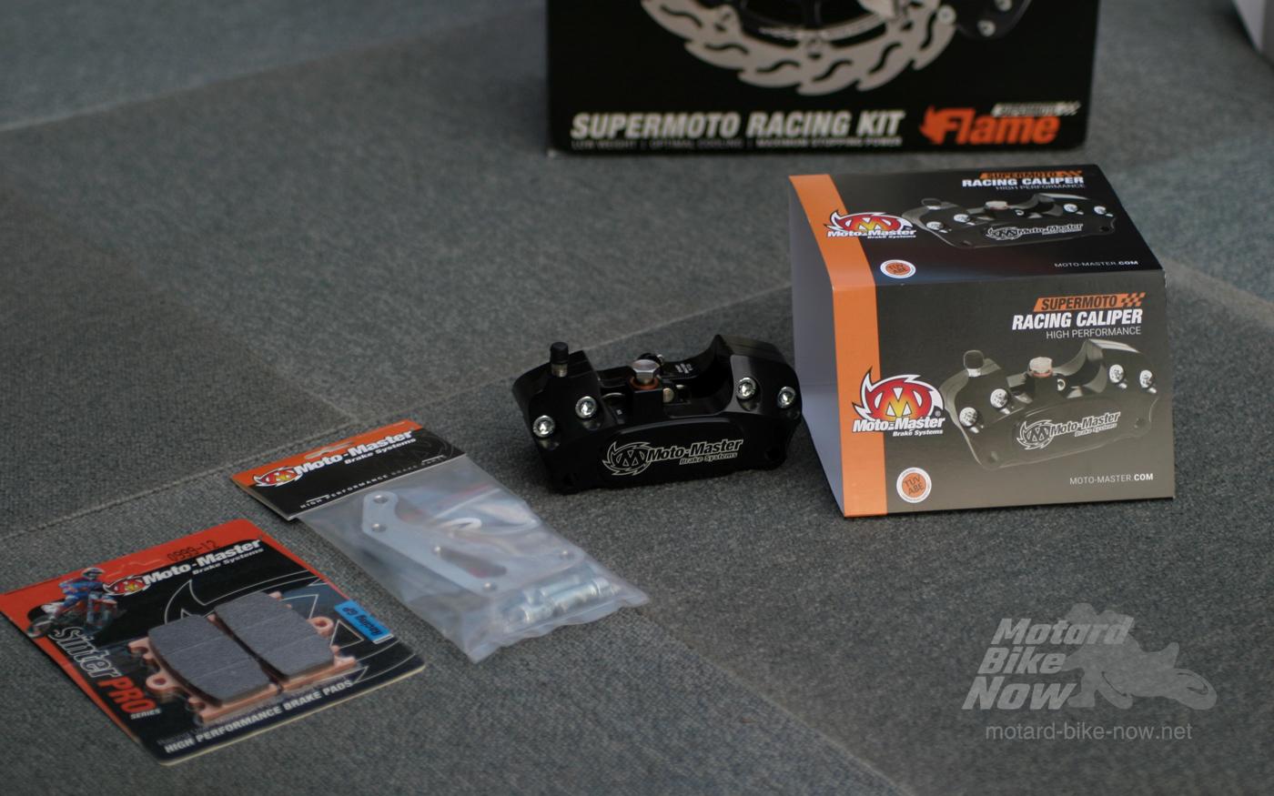 Moto-Master ビレット4ピストンスーパーモトキャリパー