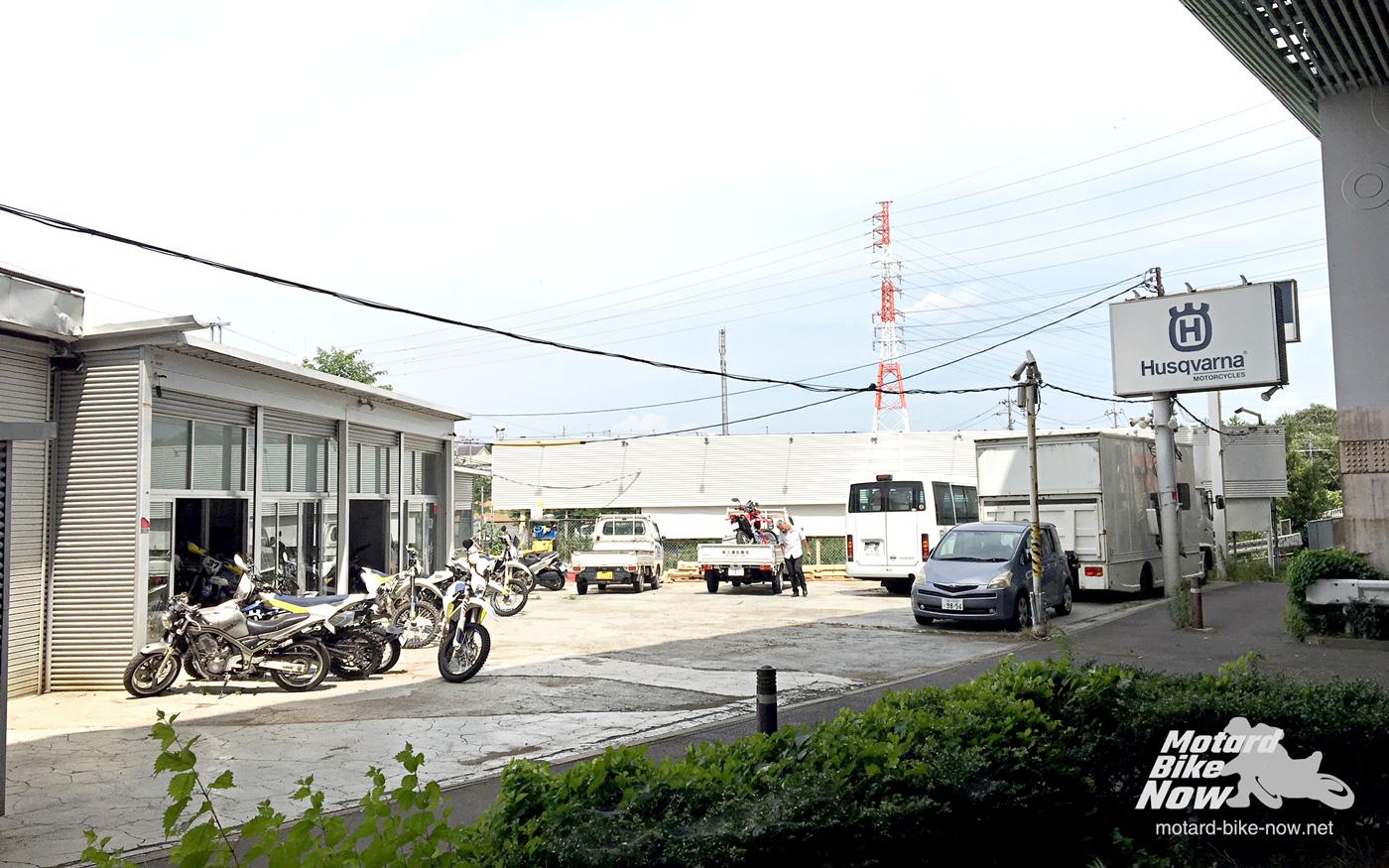 ハスクバーナ東名横浜 店舗外観