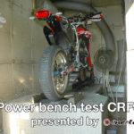フルパワー化したCRF450Lのパワーチェックを行いました!CRF450L モタード化プロジェクト Vol.6 presented by MOTOZEN